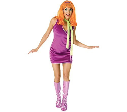 Für Daphne Erwachsene Kostüm - KULTFAKTOR GmbH Scooby-DOO Damenkostüm Daphne lila-pink Einheitsgröße