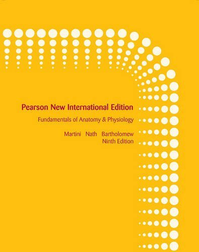 By Frederic H. Martini Fundamentals of Anatomy & Physiology (9th Edition) [Paperback]
