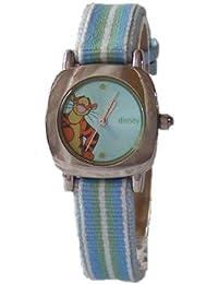 Disney mu1164 - Reloj para mujeres, correa de tela multicolor
