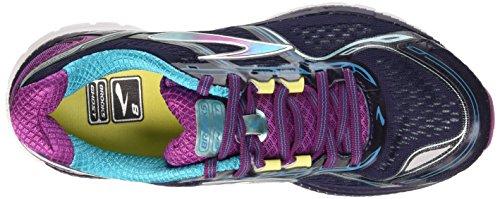 Brooks Damen Ghost 8 W Laufschuhe mehrfarbig (Peacoat/Hollyhock/Capri Breeze)