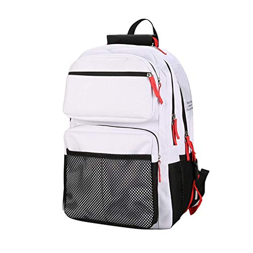 Highschool-Schülerrucksack Mehrschichtiger Schultasche für Frauen mit großem Fassungsvermögen