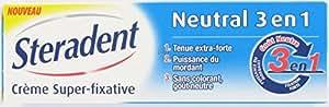 Steradent Crème Super Fixative Neutral 3 en 1 40 g