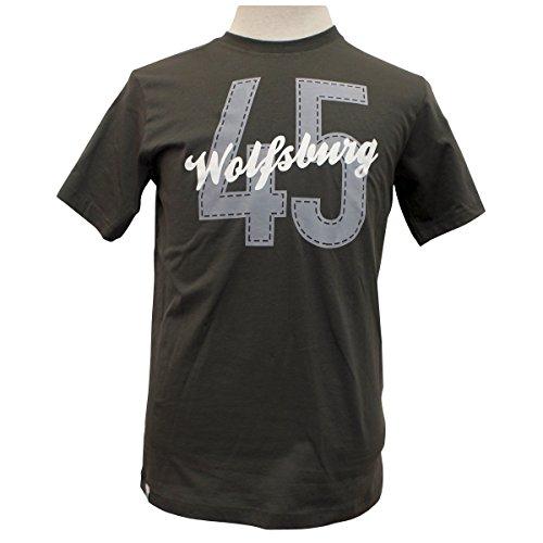 VfL Wolfsburg-Camiseta 45Oscuro/Gunmetal S