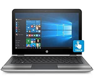 HP Pavilion 13-U004TU 13.3-inch Laptop (Core i3-6100U/4GB/1TB/Windows 10 Home/Integrated Graphics), Natural Silver