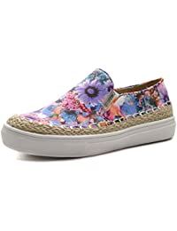 VIOLET Step2wo Zapatos para Niñas in Tela Floral