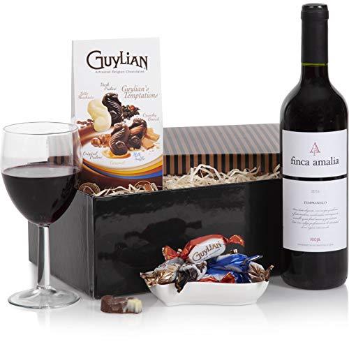 Luxury Wine & Chocolates Hamper-...