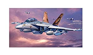Revell EA-18G Growler 1:144 Assembly kit Fixed-wing aircraft - maquetas de aeronaves (1:144, Assembly kit, Fixed-wing aircraft, Boeing EA-18 Growler, Military aircraft, De plástico)