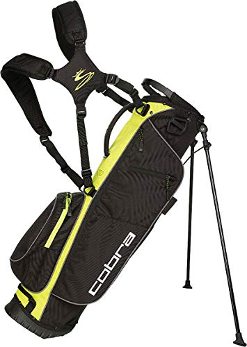 Cobra Megalite Stand Bag/Golfbag schwarz/gelb Puma Golftasche, Farbe:schwarz/gelb - Bag Stand Cobra