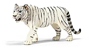 Schleich - 14382 - Figurine - Animaux - Tigre Mâle Blanc