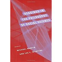 Readings in the Philosophy of Social Science (Bradford Books)