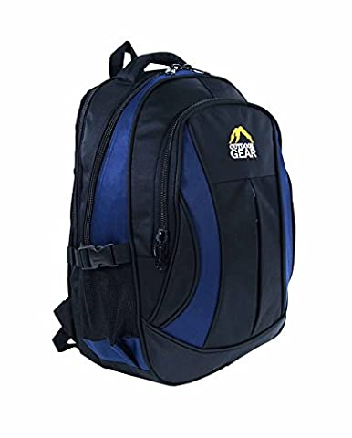 Outdoor Gear Macbook 13, 15, 15.6 inch Laptop Backpack Rucksack 30 Litres, Water Resistant Nylon Material - College Work Travel Bag 6611