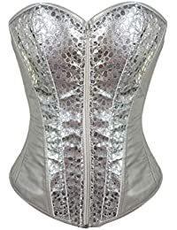 1b66ae8b0da98 Amazon.co.uk: Silver - Bustiers & Corsets / Lingerie & Underwear ...