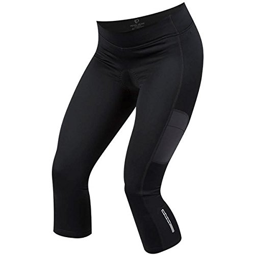 Pearl Izumi Sugar Thermal Cycling Damen Winter Fahrrad Hose 3/4 Knicker schwarz 2018: Größe: L (42/44) (Izumi Thermal Pearl Sugar)