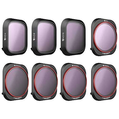 Freewell den ganzen Tag - 4K Serie - 8Pack ND4, ND8, ND16, CPL, ND8 / PL, ND16 / PL, ND32 / PL, ND64 / PL Kamera-Objektiv-Filter kompatibel mit DJI Mavic 2 Pro Drohne -