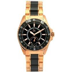 Guess Collection I4700312 - Reloj de mujer de cuarzo, correa de acero inoxidable color oro