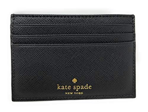 Kate Spade New York Graham Kartenetui Small Greta Court Wlru5200 Black Glitter (Kate Geldbörse Glitter Spade)