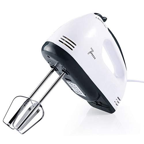 Electric Manual Mixer-7-Gang-Manual Mixer Kitchen Mixer mit Turbo (Weiß)-Fashion Baking Tour-Bestes Geschenk -