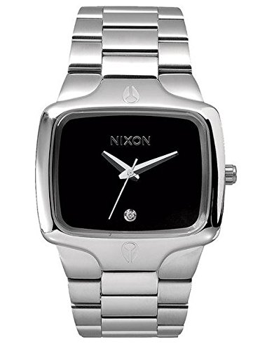 Nixon - A140000-00 - Montre Homme - Quartz Analogique - Bracelet Acier Inoxydable Argent