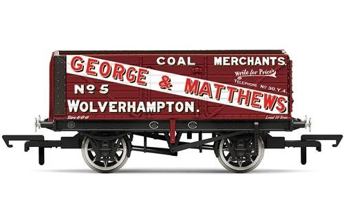 Hornby R6876 George & Matthetws Carro de Carga de 7 Pisos Wagon'5', Multi