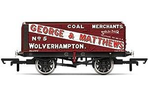 Hornby R6876 George & Matthetws Carro de Carga de 7 Pisos Wagon