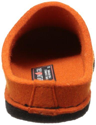 Haflinger  Flair-Soft, chaussons d'intérieur adulte mixte Orange  - Orange (rost 43)