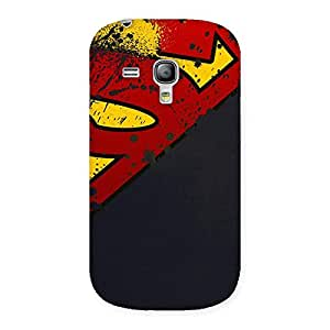 Premium Uper Multicolor Print Back Case Cover for Galaxy S3 Mini