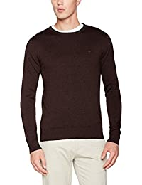 TOM TAILOR Basic Crew-Neck, Sweat-Shirt Homme