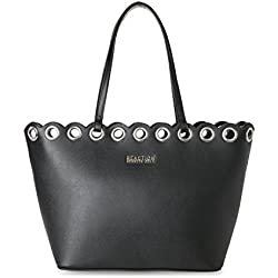 Kenneth Cole Reaction Bolso al hombro para mujer, color Negro, talla L