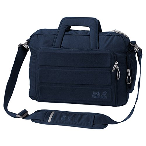 Jack Wolfskin Werrington messenger bag, unisex, Black, L Midnight Blue
