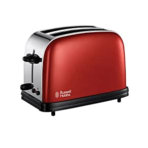 Russell Hobbs 18951 Colours 2 Slice Toaster - Red