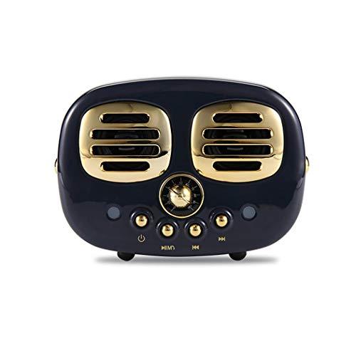 amiubo Tragbare Mini drahtlose Retro Bluetooth Lautsprecher aux Audio tf kartenspieler Tragbare Lautsprecher