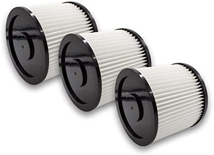Vhbw 3x filtro tondo per aspirapolvere Einhell Inox Inox Inox 1250, 1300 Plus, 1450 sostituisce 6.904-042.0, NT RU-30.1 | Moderno Ed Elegante A Moda  | Sensazione piacevole  | Funzione speciale  3676af