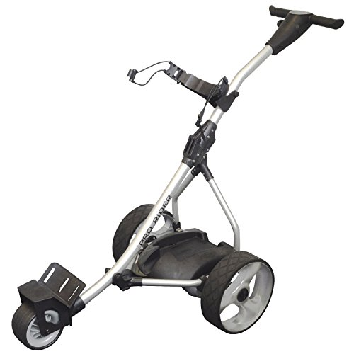 Pro Rider Lithium Electric Golf Trolley with Free Accessories - 36 Hole Lithium Battery
