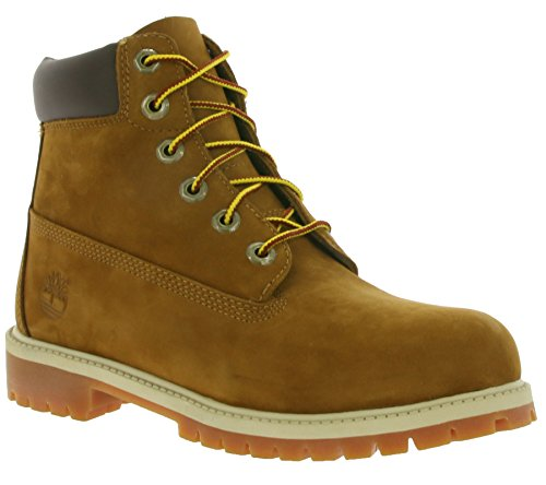 Timberland 6 In Classic Boot FTC_6 In Premium WP Boot 14749, Unisex-Kinder Stiefel Braun