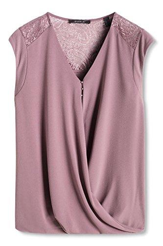 Esprit 086eo1k008, T-Shirt Femme Violet (MAUVE 550)