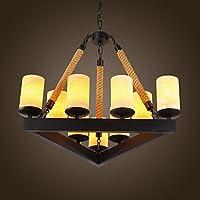 CNMKLM lampadario acrilico Plafoniera con lampadina inclusa per la sala