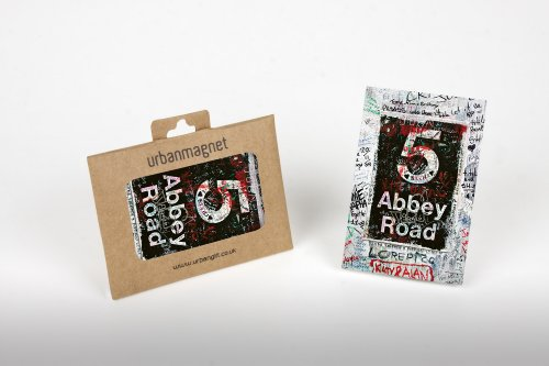 London Abbey Road Sign no: 5foto frigorifero