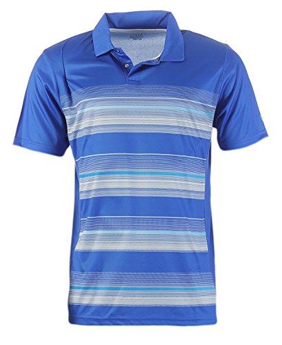 Hochwertiges Polo-Shirt Marke ISLAND GREEN Gr. 56, 1642 - royalblue für Golf oder Freizeit; sportlicher Look atmungsaktives Funktionsmaterial; verschiedenen Modelle und Farben