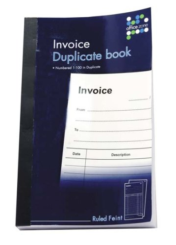 "Anker International Stationary ""1-80"" Invoice Duplicate Book Test"