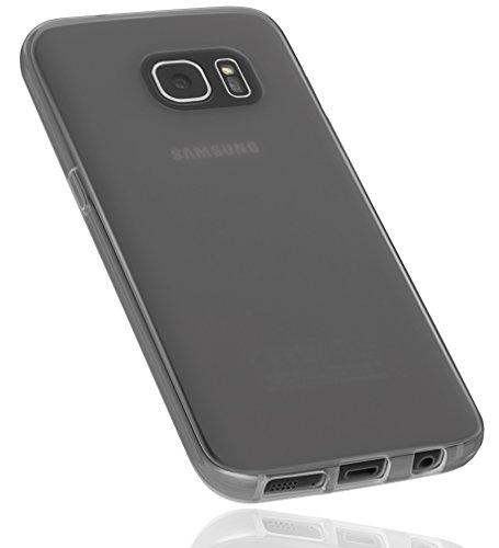 mumbi Schutzhülle für Samsung Galaxy S7 Hülle transparent schwarz