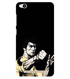 Chiraiyaa Designer Printed Premium Back Cover Case for Xiaomi Redmi 3S (Bruce Lee) (Multicolor)