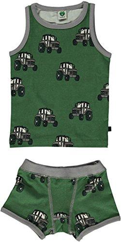 Smafolk Unterwäsche Traktor grün Gr. - Traktor Unterwäsche Jungen