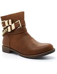 London Footwear - Botas Chelsea mujer