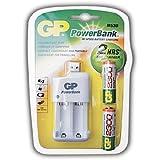 GP Batteries pb530usb230-c2Power Bank Chargeur rapide USB (avec des piles 2x AA 2300mAh)