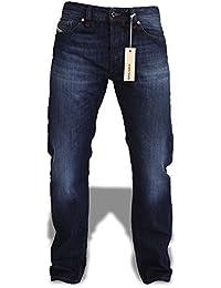 Diesel Jeans hommes LARKEE 0823G 823G bleu foncé délavé
