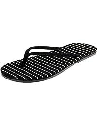 Zapatillas de deporte de las señoras de las rayas blancos y negros