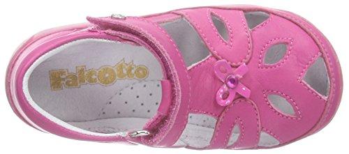Naturino Falcotto 1453 Baby Mädchen Lauflernschuhe Pink (VITELLO FUXIA)
