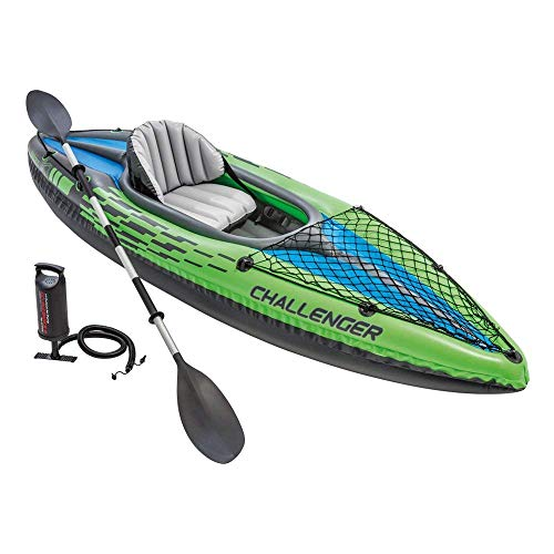 Intex 68305NP - Kayak hinchable Challenger K1 remo