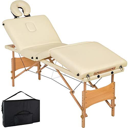 Lettino Da Estetista Pieghevole.Tectake Lettino Massaggi 10cm Imbottitura Estetista Massaggio