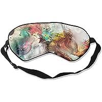 Sleep Eye Mask Painting Abstract Lightweight Soft Blindfold Adjustable Head Strap Eyeshade Travel Eyepatch E6 preisvergleich bei billige-tabletten.eu